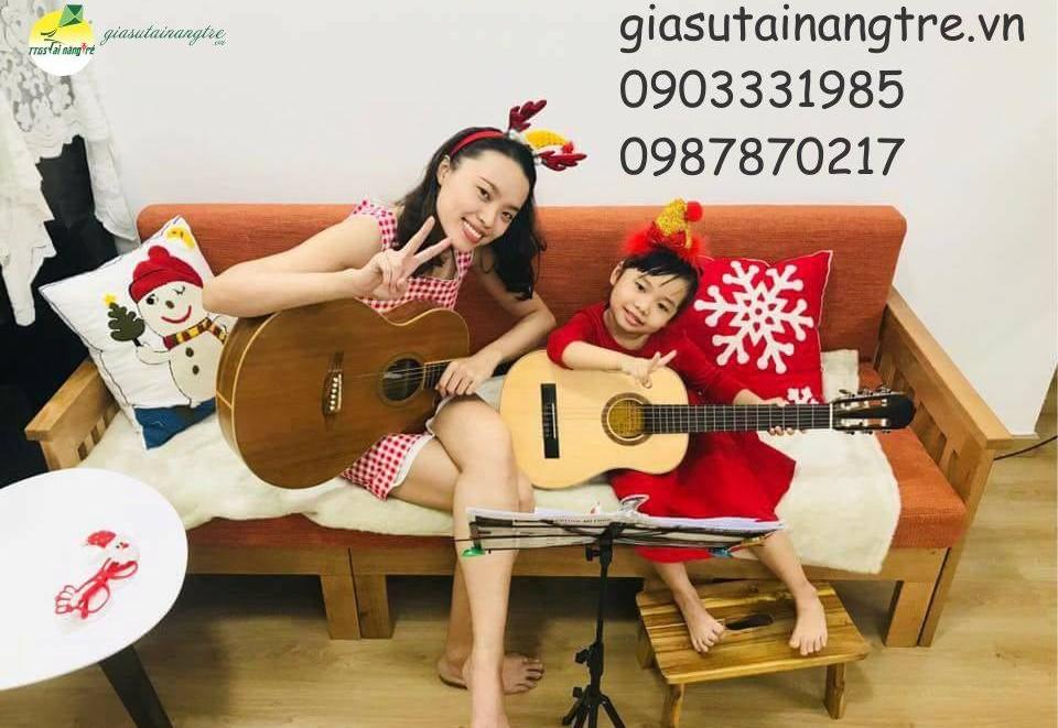Học đàn Guitar tại huyện Hóc Môn