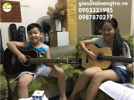 Học đàn Guitar tại quận 10